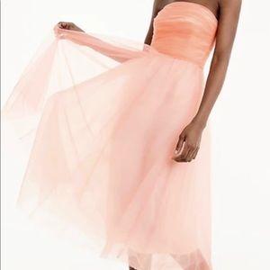 EEUC J Crew Peachy Chiffon Ballerina Tutu Dress 8
